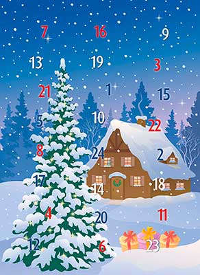 Braille Adventskalender